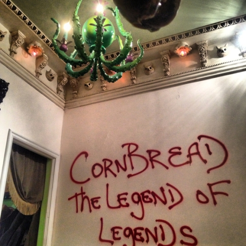 Legend on the wall of a future legends house